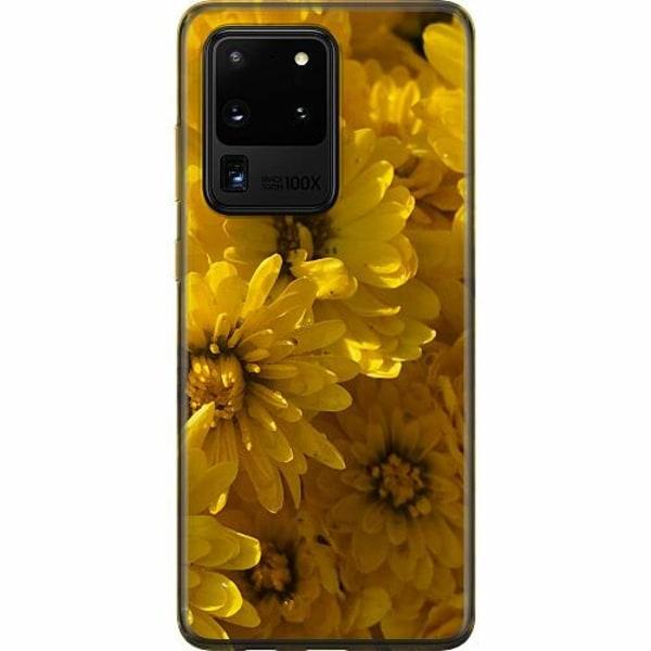 Samsung Galaxy S20 Ultra Mjukt skal - Yellowy. Kinda