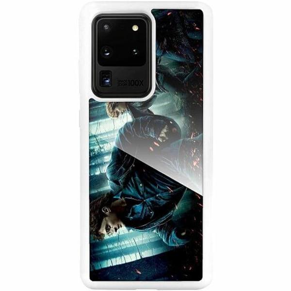 Samsung Galaxy S20 Ultra Vitt Mobilskal med Glas Harry Potter