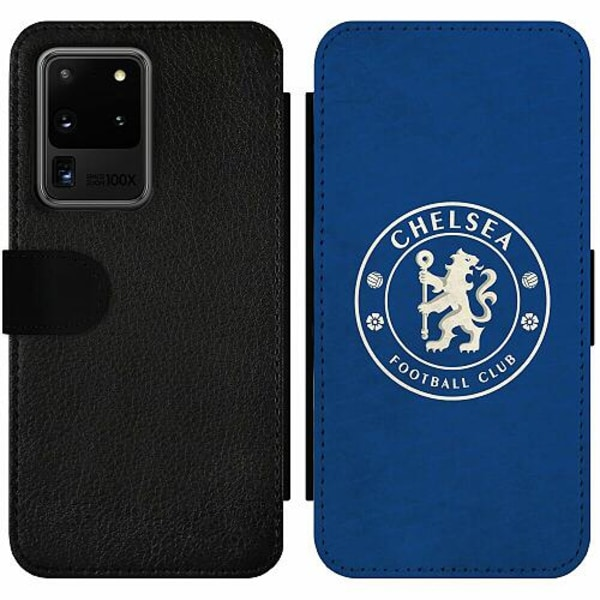 Samsung Galaxy S20 Ultra Wallet Slim Case Chelsea Football Club