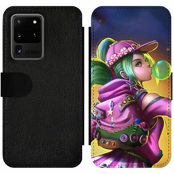 Samsung Galaxy S20 Ultra Wallet Slim Case Fortnite Zoey