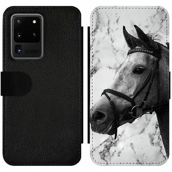 Samsung Galaxy S20 Ultra Wallet Slim Case Häst