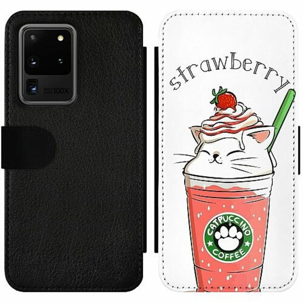 Samsung Galaxy S20 Ultra Wallet Slim Case Kawaii