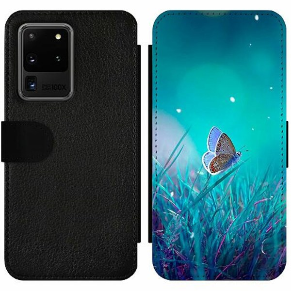 Samsung Galaxy S20 Ultra Wallet Slim Case Magical Butterfly