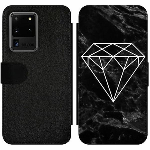 Samsung Galaxy S20 Ultra Wallet Slim Case Marmor Diamant