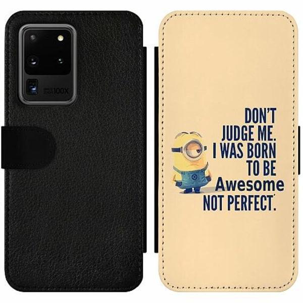Samsung Galaxy S20 Ultra Wallet Slim Case Minions