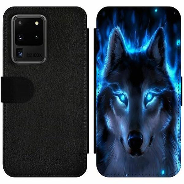 Samsung Galaxy S20 Ultra Wallet Slim Case Wolf