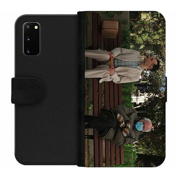 Samsung Galaxy S20 Wallet Case Bernie Sanders Meme