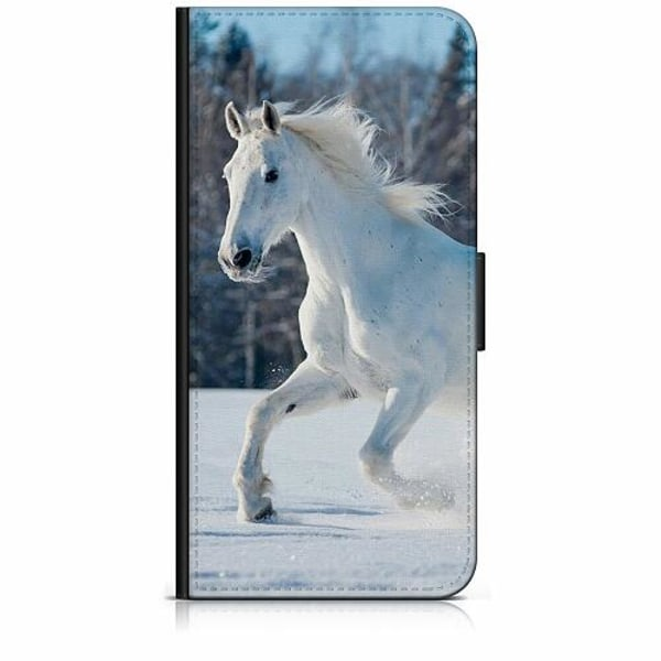 Apple iPhone SE (2020) Plånboksfodral Häst / Horse