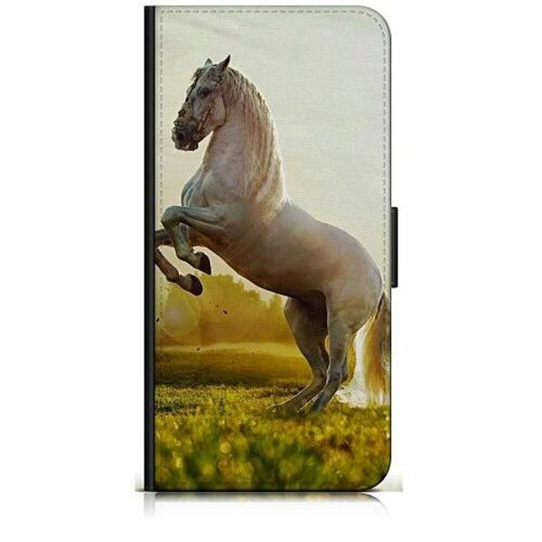 Samsung Galaxy Xcover 3 Plånboksfodral Häst / Horse