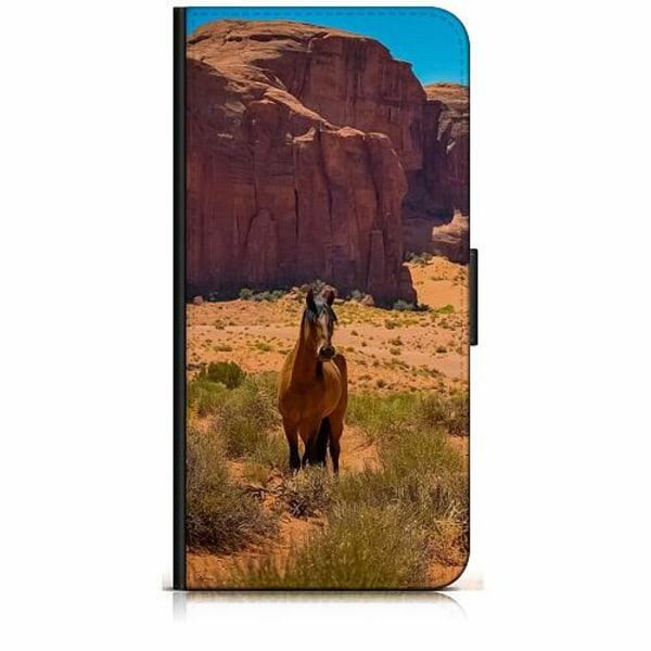 Huawei Y6 (2018) Plånboksfodral Häst / Horse