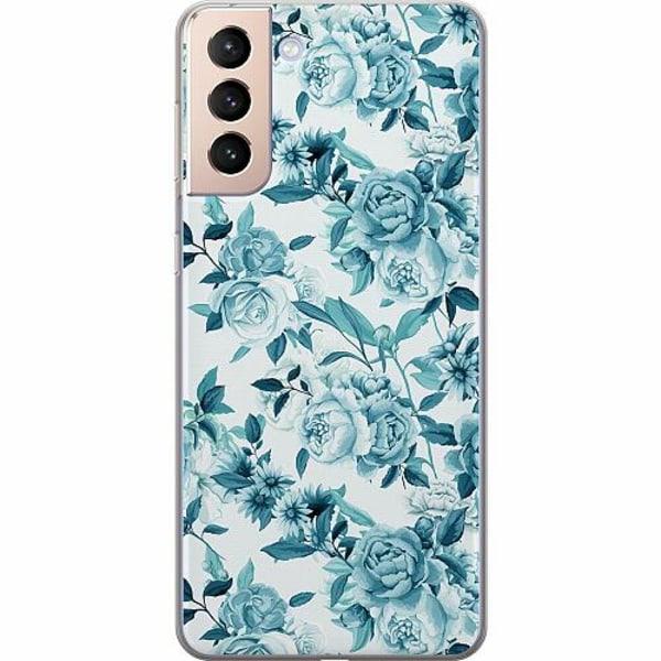 Samsung Galaxy S21+ Thin Case Blommor