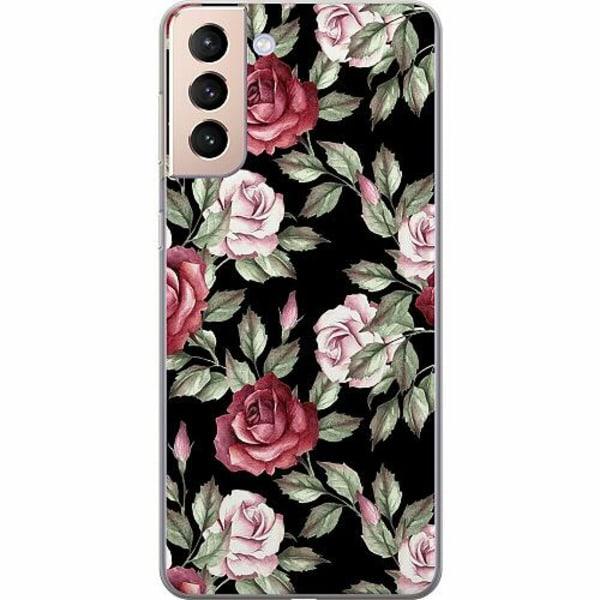 Samsung Galaxy S21 Mjukt skal - Blommor
