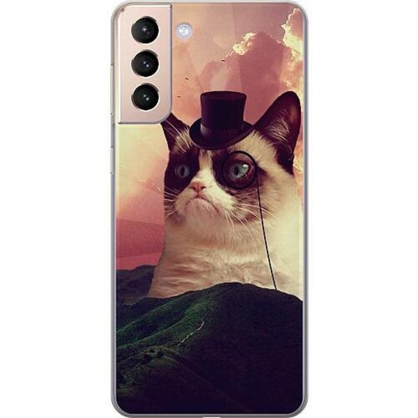 Samsung Galaxy S21+ Thin Case Cat Af Grund