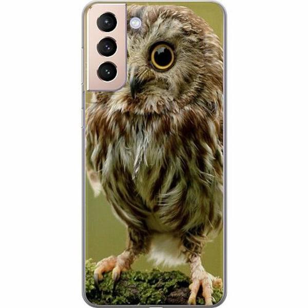 Samsung Galaxy S21+ Thin Case Owl
