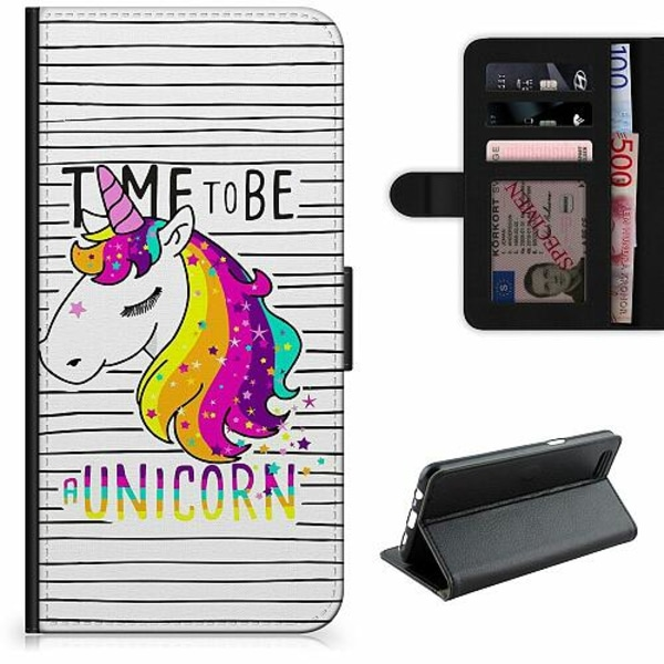 Apple iPhone 6 / 6S Lyxigt Fodral UNICORN