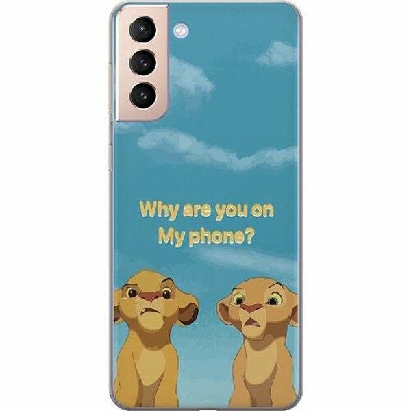 Samsung Galaxy S21+ Mjukt skal - My Phone