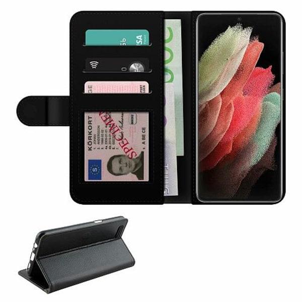 Samsung Galaxy S21 Ultra Fodralväska Blommor