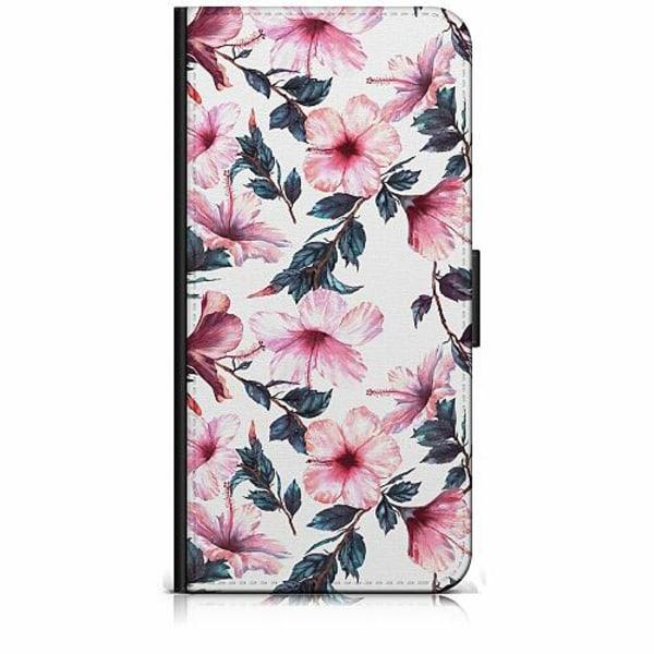 Huawei Y6 (2018) Plånboksfodral Blommor