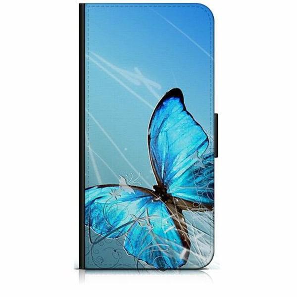 Apple iPhone 6 / 6S Plånboksfodral Fjäril