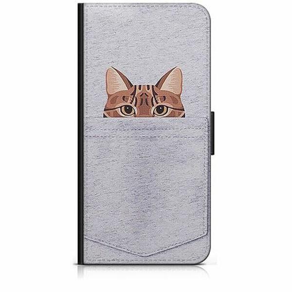Samsung Galaxy Xcover 3 Plånboksfodral Katt