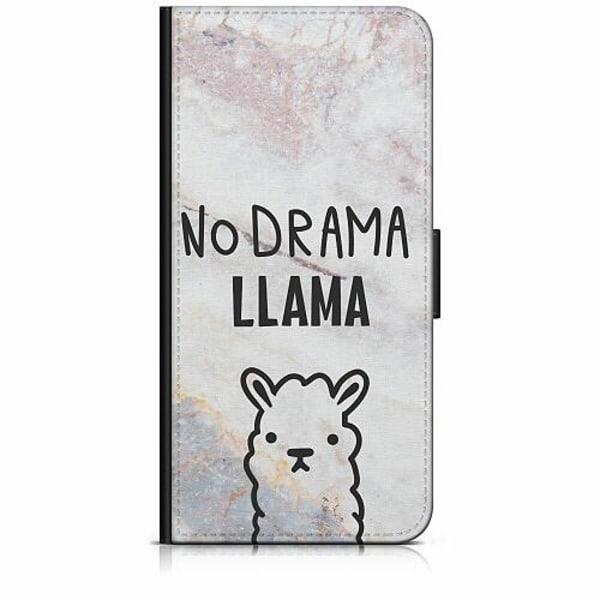 Apple iPhone 7 Plånboksfodral Llama Marble