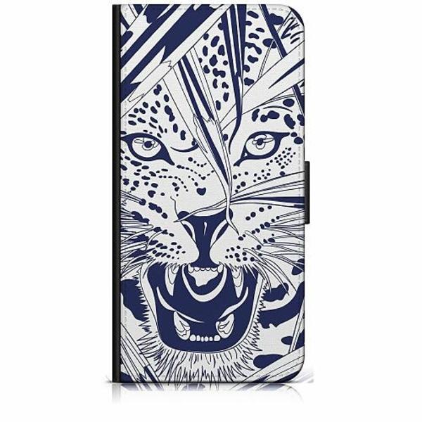 Apple iPhone 6 / 6S Plånboksfodral Manga Tiger
