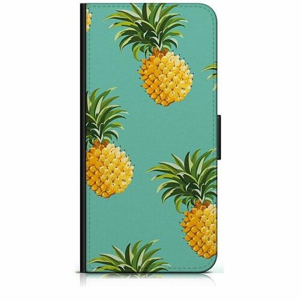 Apple iPhone 6 / 6S Plånboksfodral Pineapples Teal
