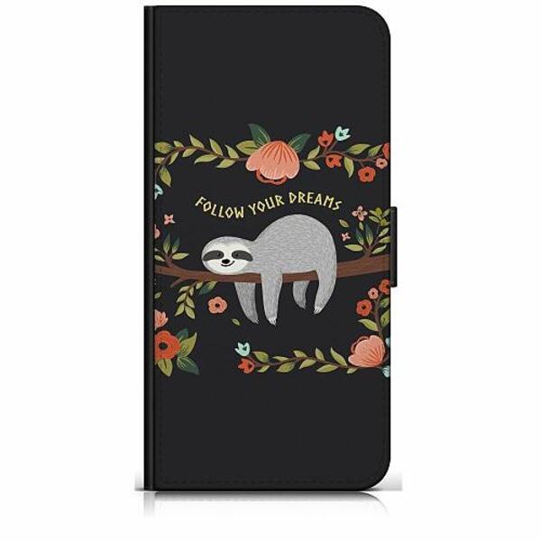Apple iPhone 6 / 6S Plånboksfodral Sloth of wisdom