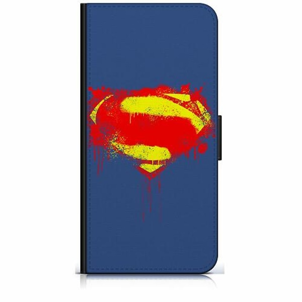 Apple iPhone 11 Pro Max Plånboksfodral Superman Splat
