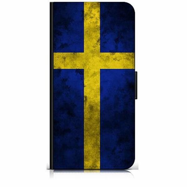 Samsung Galaxy S20 Plånboksfodral Sverige Flagga