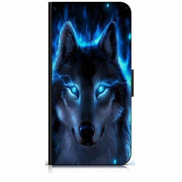 Huawei P40 Lite Plånboksfodral Wolf