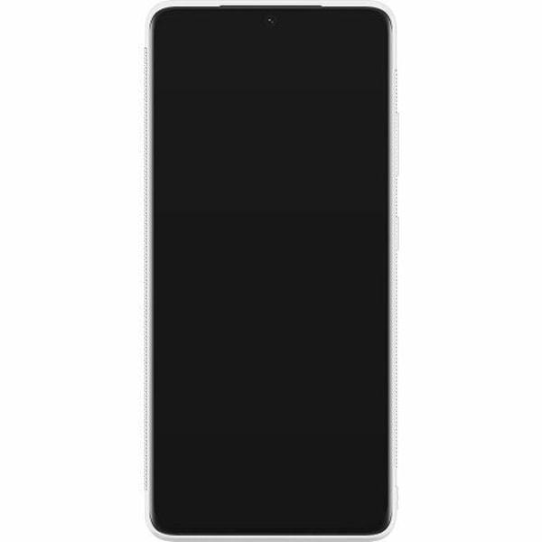 Samsung Galaxy S21 Ultra Soft Case (Vit) Kawaii
