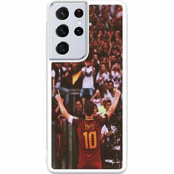 Samsung Galaxy S21 Ultra Soft Case (Vit) Francesco Totti