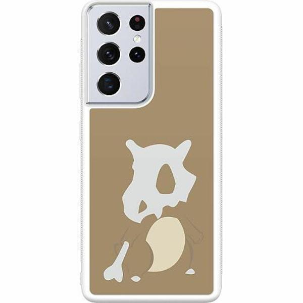 Samsung Galaxy S21 Ultra Soft Case (Vit) Pokémon - Cubone