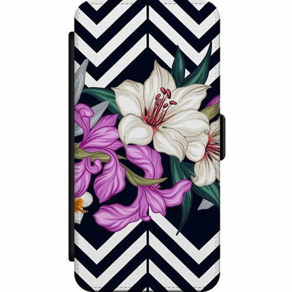 Huawei P30 Lite Skalväska Blommor
