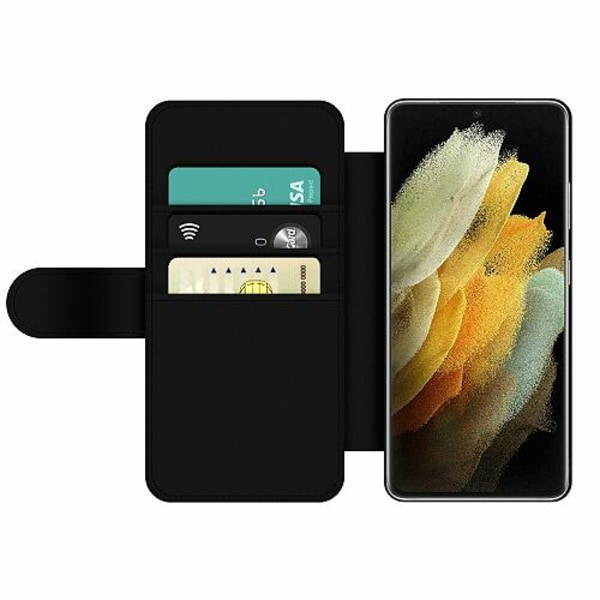 Samsung Galaxy S21 Ultra Wallet Slim Case Wolf / Varg