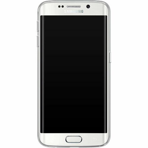 Samsung Galaxy S6 Edge Thin Case Gold & Glitter