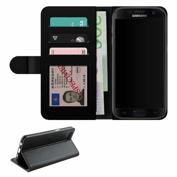 Samsung Galaxy S7 Fodralväska Häst & Hund