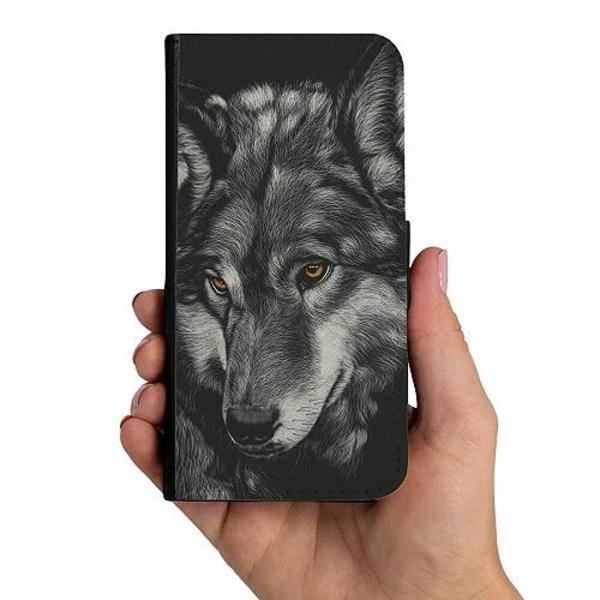 Samsung Galaxy A40 Mobilskalsväska Wolf / Varg