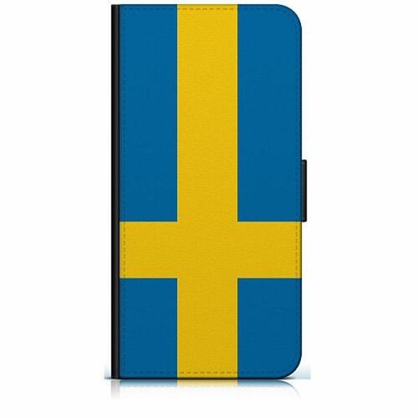 Samsung Galaxy S7 Plånboksfodral Heja Sverige / Sweden