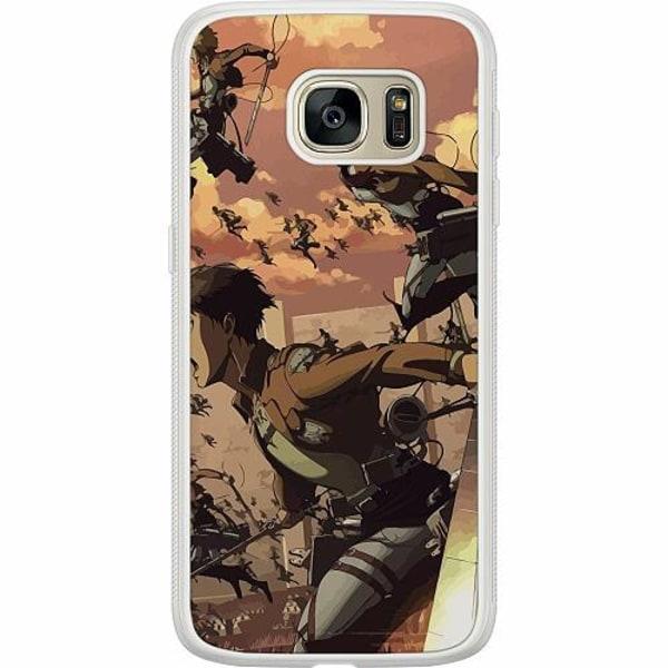 Samsung Galaxy S7 Soft Case (Frostad) Attack On Titan
