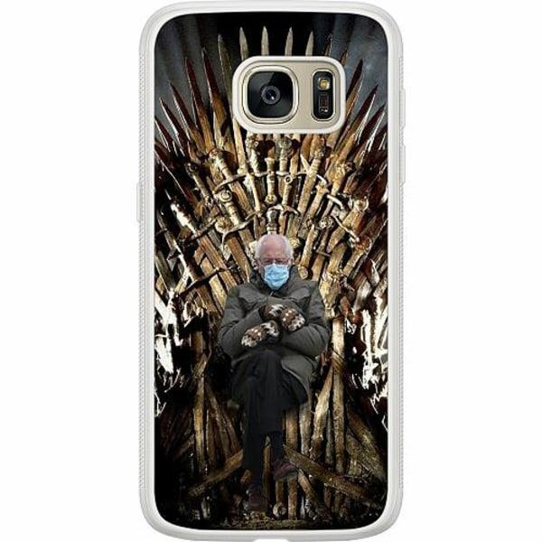 Samsung Galaxy S7 Soft Case (Frostad) Bernie Sanders Meme