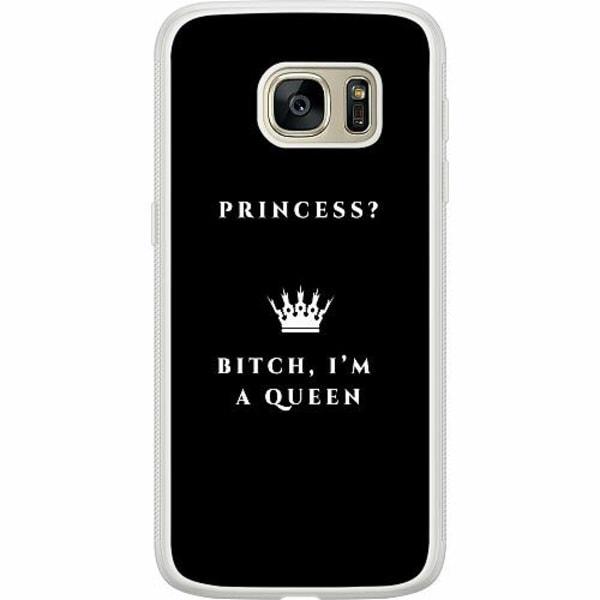 Samsung Galaxy S7 Soft Case (Frostad) Bitch I´m A Queen