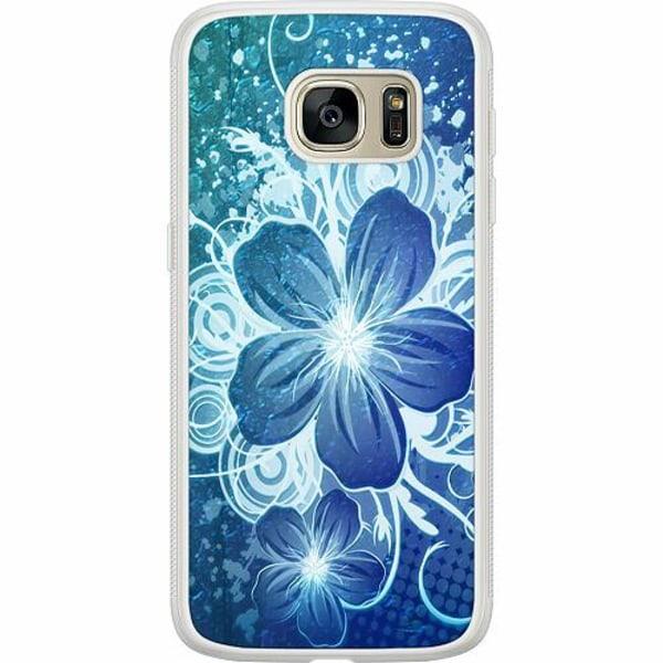 Samsung Galaxy S7 Soft Case (Frostad) Blommor