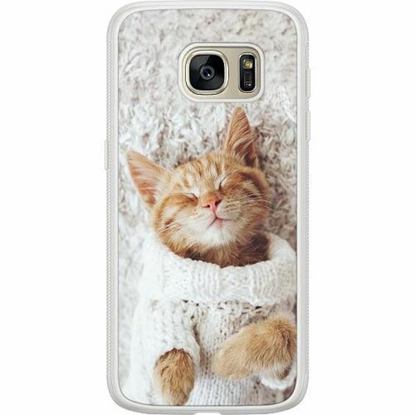 Samsung Galaxy S7 Soft Case (Frostad) Katt
