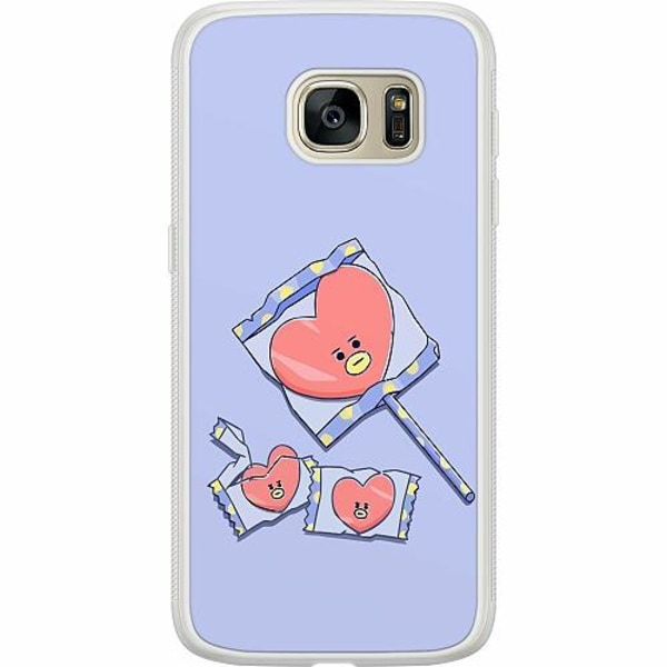 Samsung Galaxy S7 Soft Case (Frostad) Kawaii