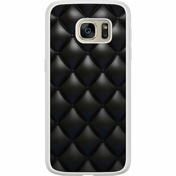 Samsung Galaxy S7 Soft Case (Frostad) Leather Black