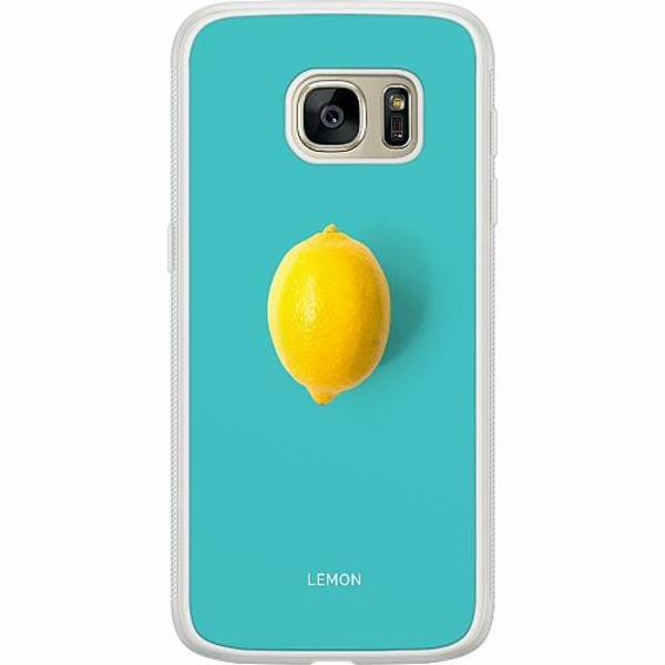 Samsung Galaxy S7 Soft Case (Frostad) Lemon