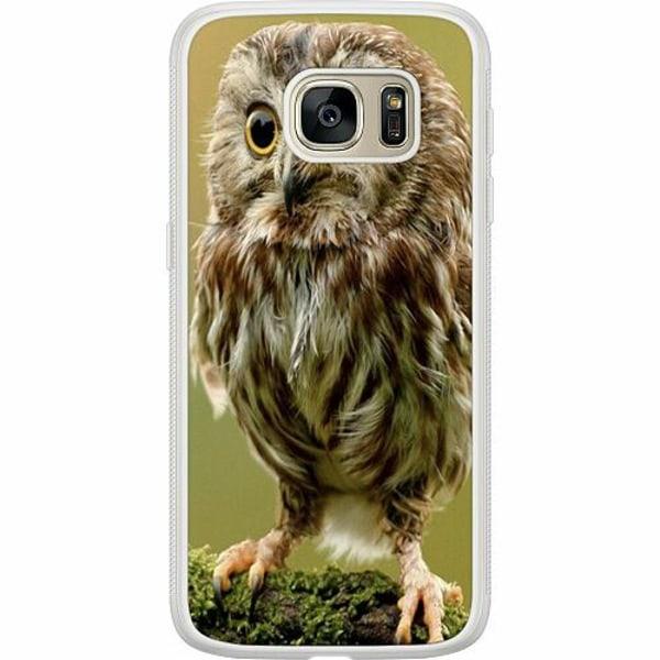 Samsung Galaxy S7 Soft Case (Frostad) Owl
