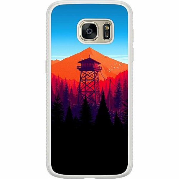 Samsung Galaxy S7 Soft Case (Frostad) Pattern